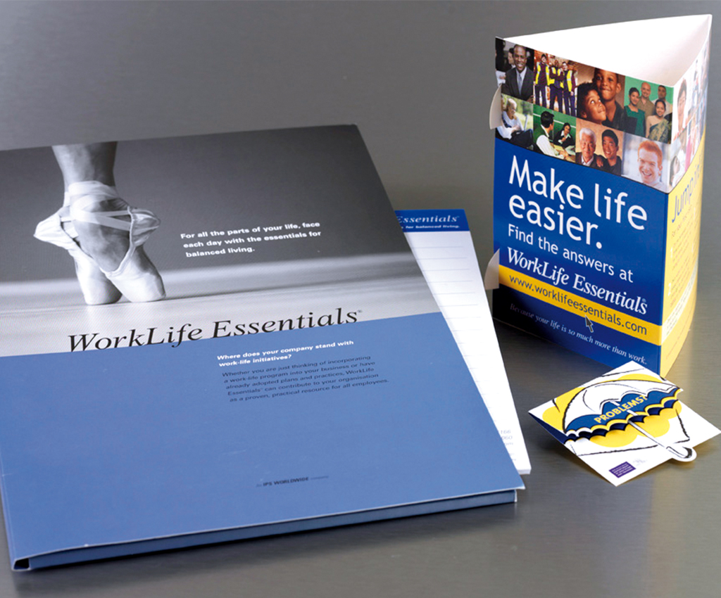 IPS Worldwide information pack and promo items