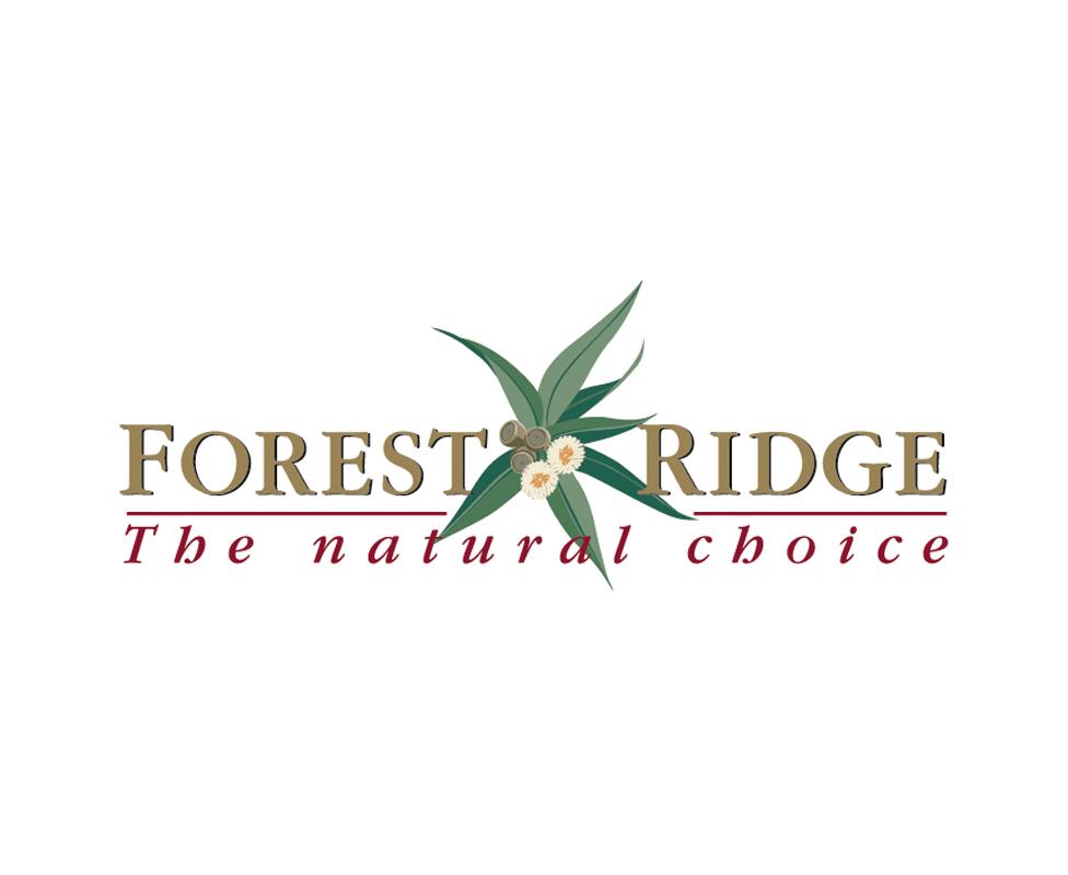Forest Ridge new housing estate – logo design