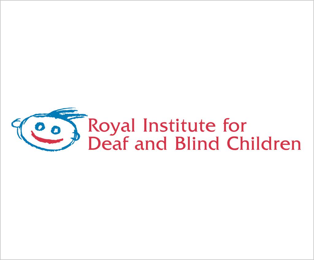 Royal Institute for<br /> Deaf &amp; Blind Children<br /> logo design<br />