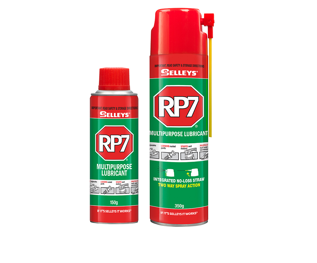 Selleys RP7 lubricant label design