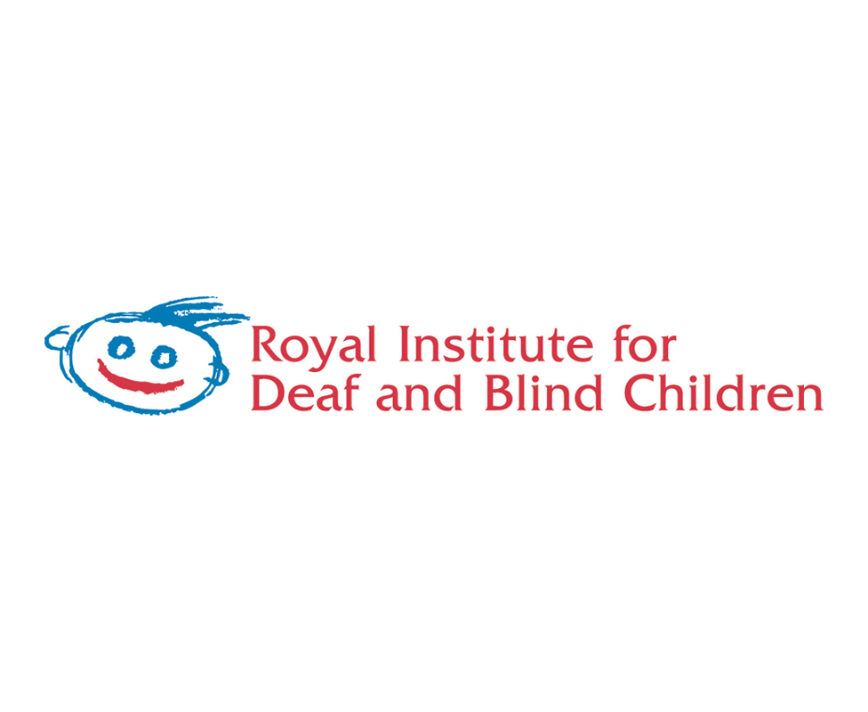 Royal Institute for Deaf and Blind Children logo design