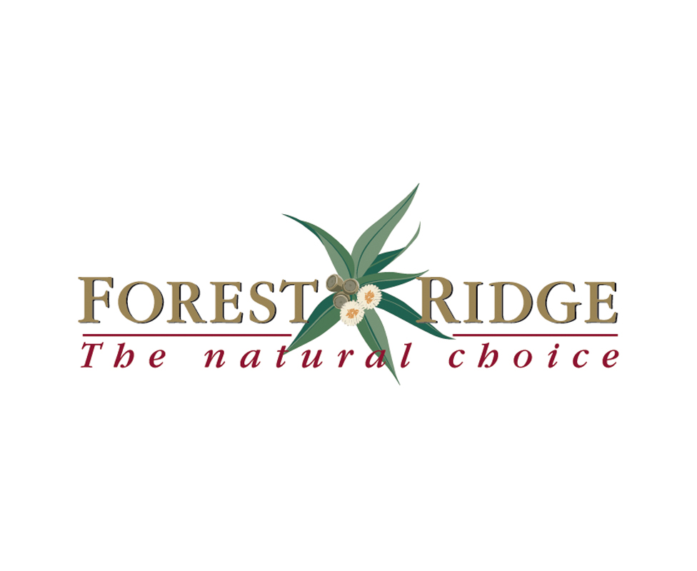 Forest Ridge new housing estate – logo design