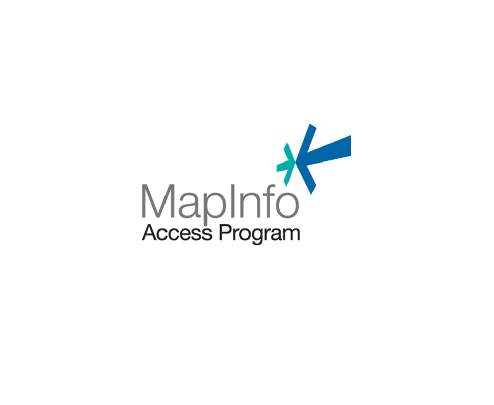 MapInfo loyalty program logo design