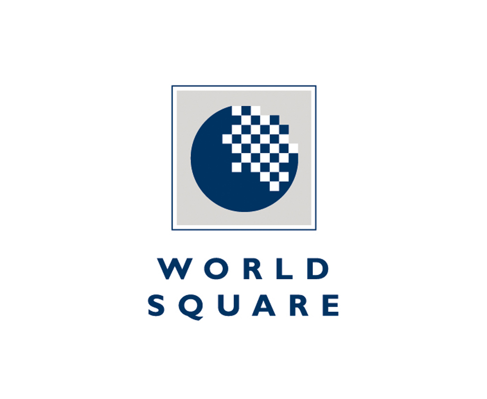 World Square commercial/residential logo design