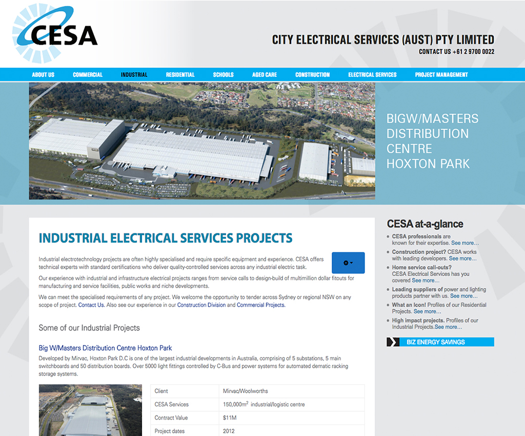 CESA website